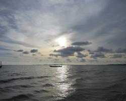 Foto: Por do Sol em Otres Beach, Camboja